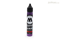 Molotow ONE4ALL Acrylic Paint Marker Refill - 30 ml - Currant Violet (042) - MOLOTOW 693.042