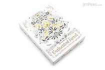 Enchanted Forest Notecards - Johanna Basford - Box of 12 - LAURENCE KING 9781780677668