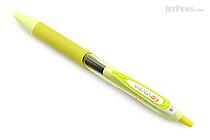 Zebra Sarasa Dry Gel Pen - 0.5 mm - Lime Green - Black Ink - ZEBRA JJ31-LMG