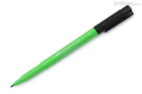 Faber-Castell PITT Artist Pen B Brush - Leaf Green 112 - FABER-CASTELL 167412