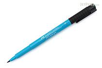 Faber-Castell PITT Artist Pen B Brush - Cobalt Turquoise 153 - FABER-CASTELL 167453