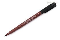 Faber-Castell PITT Artist Pen B Brush - Caput Mortuum 169 - FABER-CASTELL 167469