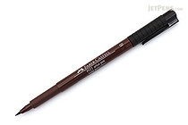Faber-Castell PITT Artist Pen B Brush - Dark Sepia 175 - FABER-CASTELL 167475