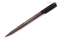 Faber-Castell PITT Artist Pen B Brush - Walnut Brown 177 - FABER-CASTELL 167477