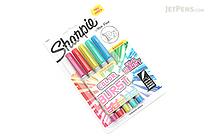 Sharpie Color Burst Permanent Marker - Ultra Fine Point - 5 Color Set - SHARPIE 1948353