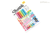 Sharpie Color Burst Permanent Marker - Ultra Fine Point - 5 Color Set - SHARPIE 1948353
