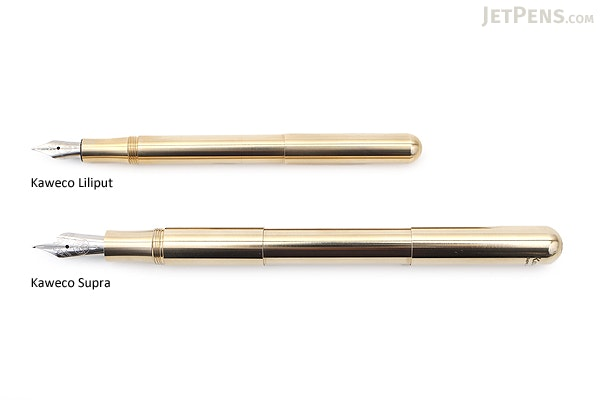 Kaweco Supra Fountain Pen - Eco Brass - Medium Nib - KAWECO 10001003