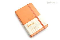 "Rhodia Webnotebook - 3.5"" x 5.5"" - 5 mm Dot Grid - Orange - RHODIA 118568"