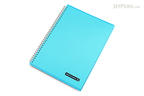 Maruman Sept Couleur Notebook - A4 - 7 mm Rule - Teal - MARUMAN N570B-52