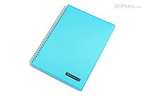 Maruman Sept Couleur Notebook - A4 - 7 mm Rule - Teal - MARUMAN N570B-52