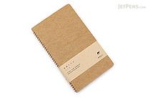 Midori Spiral Ring Notebook - A5 Slim - Camel - MIDORI 15031-006