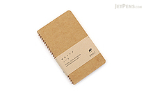 Midori Spiral Ring Notebook - A6 Slim - Camel - MIDORI 15028-006
