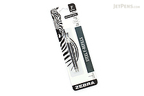 Zebra F-Refill Ballpoint Pen Refill - 0.7 mm - Black - Pack of 2 - ZEBRA 85512