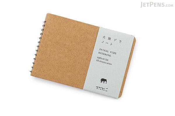 Midori Spiral Ring Notebook - B7 - Elephant - MIDORI 15083-006