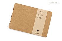 Midori Spiral Ring Notebook - B6 - Camel - MIDORI 15037-006