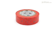 MT Patterns Washi Tape - Sharkskin Kaki (Persimmon) - 15 mm x 10 m - MT MT01D212Z