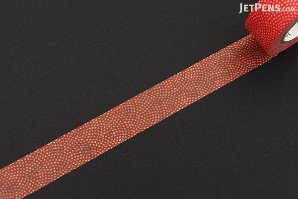 MT Patterns Washi Tape - Sharkskin Kaki (Persimmon) - 15 mm x 10 m - MT MT01D212Z