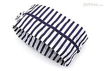 BAGGU 3D Zip Bag - Large - Sailor Stripe - BAGGU 3D ZIP L SS