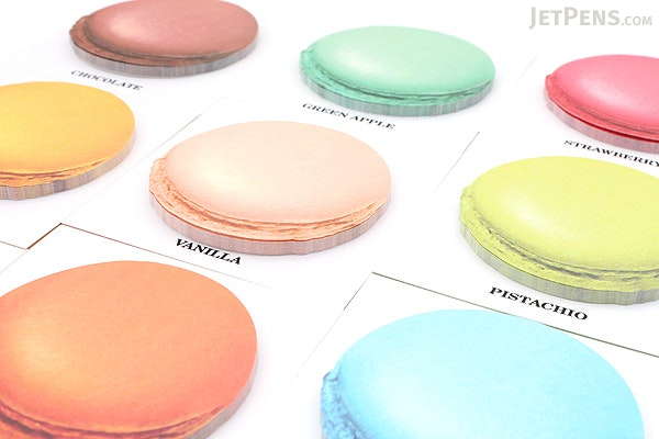 Design Shim Macarons Sticky Notes - Large - Vanilla - DESIGN SHIM OFP-BMA16 VA