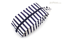 BAGGU 3D Zip Bag - Medium - Sailor Stripe - BAGGU 3D ZIP M SS