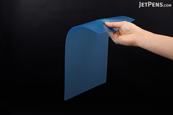 Kyoei Orions Color Soft Shitajiki Writing Board - A4 - Blue - KYOEI CSS-A4-B