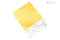 Kyoei Orions Color Soft Shitajiki Writing Board - A4 - Yellow - KYOEI CSS-A4-Y