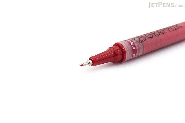 Derwent Graphik Line Painter Pen - #05 Blood (Red) - 0.5 mm - DERWENT 2302214