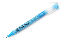 Derwent Graphik Line Painter Pen - #09 High (Sky Blue) - 0.5 mm - DERWENT 2302218