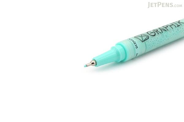 Derwent Graphik Line Painter Pen - #12 Minted (Light Green) - 0.5 mm - DERWENT 2302221
