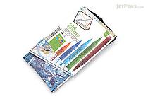Derwent Graphik Line Painter Pen - 5 Color Set 2 - 0.5 mm - DERWENT 2302231