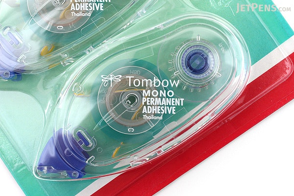 Tombow Mono Permanent Adhesive Tape Runner Refill - Pack of 3 - TOMBOW 62207