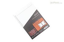 Maruman Giuris Loose Leaf Paper - A5 - Lined - 20 Holes - 50 Sheets - MARUMAN HL300A