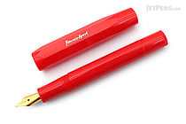 Kaweco Classic Sport Fountain Pen - Red - Fine Nib - KAWECO 10001146