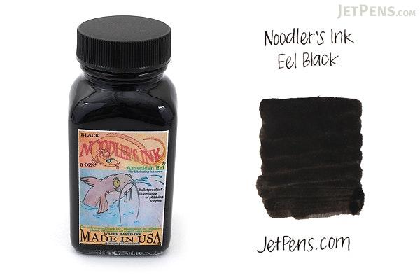 Noodler's Eel Black Ink - 3 oz Bottle - NOODLERS 19207