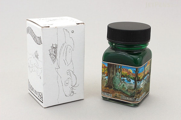 Noodler's Hunter Green Ink - 1 oz Bottle - NOODLERS 19181