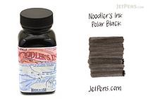 Noodler's Polar Black Ink - 3 oz Bottle - NOODLERS 19201
