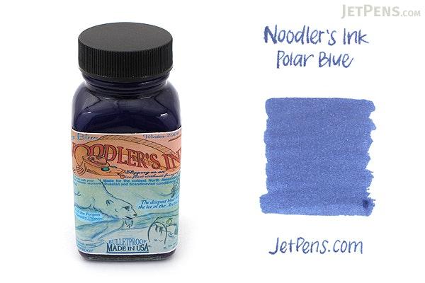 Noodler's Polar Blue Ink - 3 oz Bottle - NOODLERS 19208