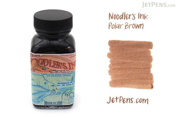 Noodler's Polar Brown Ink - 3 oz Bottle - NOODLERS 19209