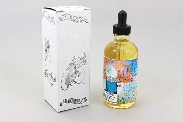 Noodler's Blue Ghost Ink - 4.5 oz Bottle with Free Pen - NOODLERS 19809