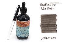 Noodler's Polar Black Ink - 4.5 oz Bottle with Free Pen - NOODLERS 19803