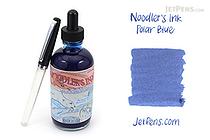 Noodler's Polar Blue Ink - 4.5 oz Bottle with Free Pen - NOODLERS 19805
