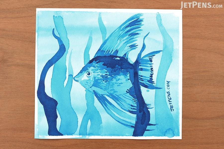 Noodler's Eel Turquoise Ink - 3 oz Bottle - NOODLERS 19206