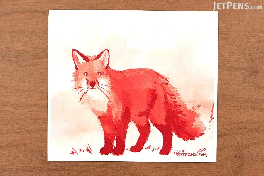 Noodler's Fox Red Ink - 1 oz Bottle - NOODLERS 19182