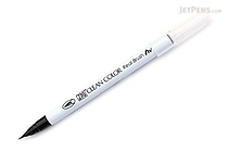 Kuretake Zig Clean Color Real Brush Pen - Black (010) - KURETAKE RB-6000AT-010