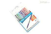Paper Mate Flair Felt Tip Pen - Ultra Fine Point - 8 Color Set - PAPER MATE 62145