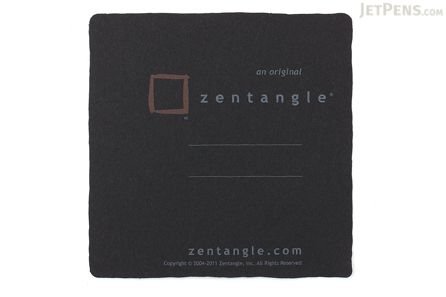 "Sakura Zentangle - 10 Piece Drawing Set - Black 3.5"" x 3.5"" Tiles - SAKURA 50111"