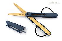 Raymay Pencut Titanium Coated Scissors - Navy - RAYMAY SH103K