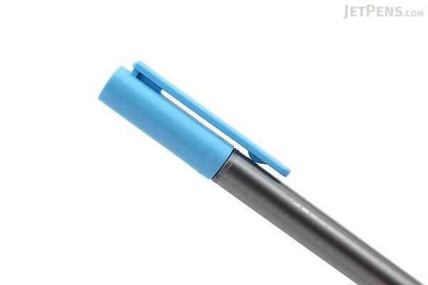 Staedtler Triplus Fineliner Pen - 0.3 mm - Neon Blue - STAEDTLER 334-301