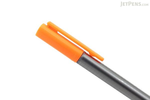 Staedtler Triplus Fineliner Pen - 0.3 mm - Neon Orange - STAEDTLER 334-401