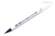 Kuretake Zig Clean Color Real Brush Pen - Peacock Blue (038) - KURETAKE RB-6000AT-038